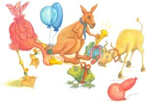 Animal party Jpeg